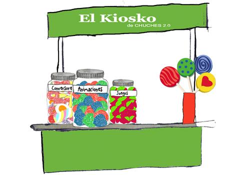 Aprendizaje y uso de las tics en las aulas el kiosco de for Imagenes de kioscos de madera